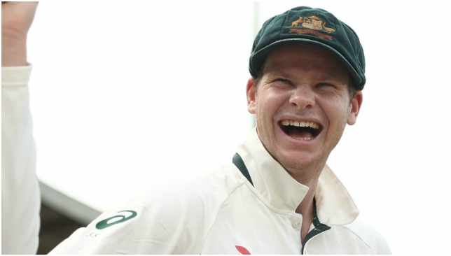 Steve Smith has done his take on Maxwell's infamous leave.